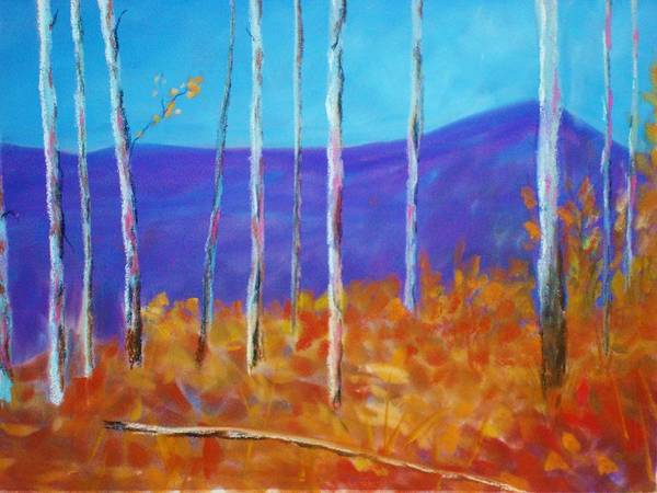 Autumn In Cloudcroft Art Print