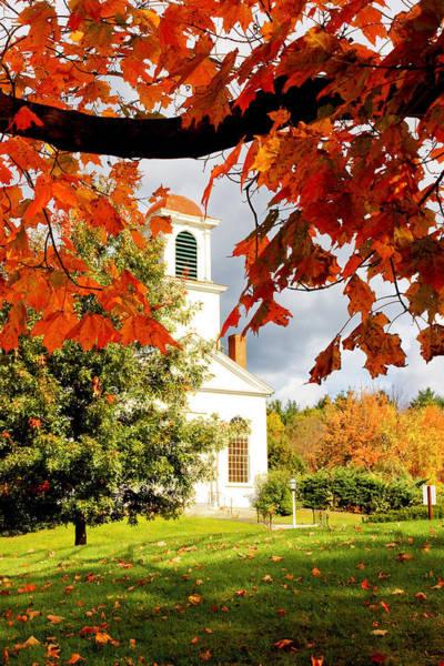Autumn In Gilmanton Art Print
