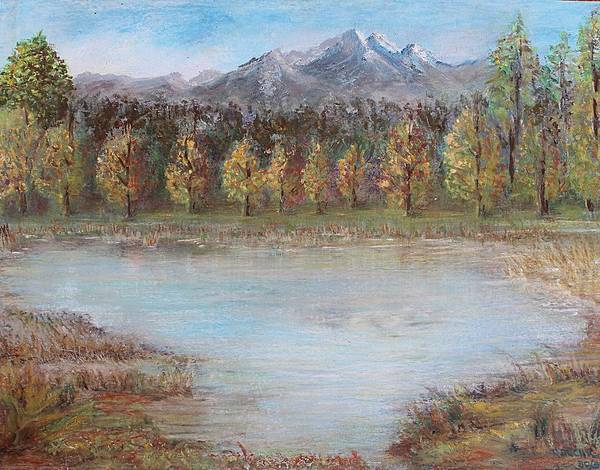 Pastel - Autumn In Maule by Norma Duch