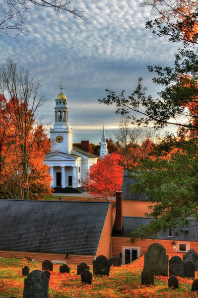 Autumn In New England Photograph - Autumn In New England - Concord Ma by Joann Vitali