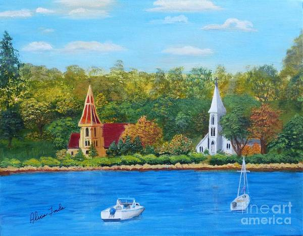 Autumn In Nova Scotia Art Print