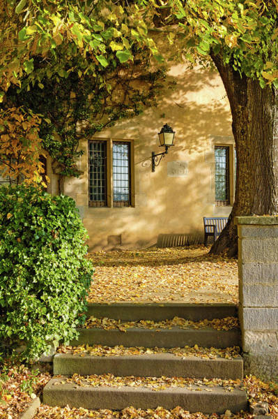 Photograph - Autumn In Old Town Bebenhausen Germany by Matthias Hauser