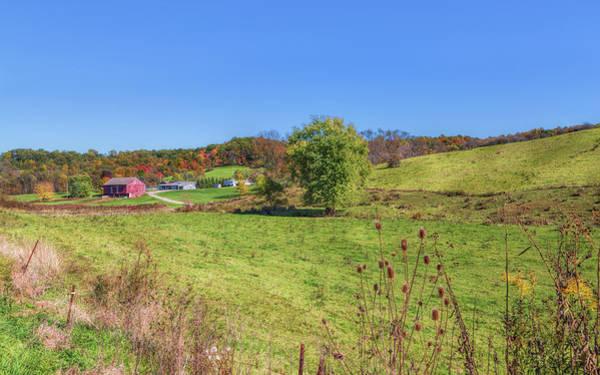 Photograph - Autumn In The Farmlands by John M Bailey
