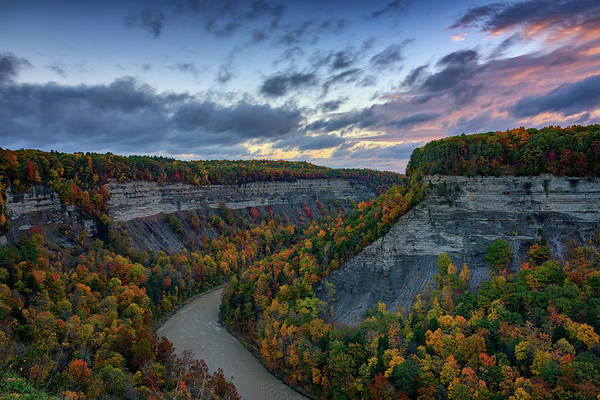 Wall Art - Photograph - Autumn In The Gorge by Rick Berk