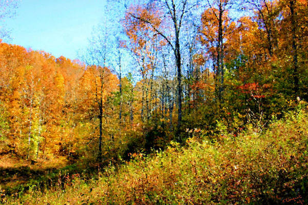 Photograph - Autumn In The Tennessee Hills by Kristin Elmquist