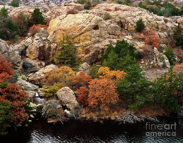 Photograph - Autumn In The Wichitas by Richard Smith