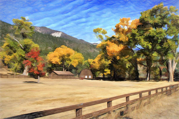 Wall Art - Photograph - Autumn In Washoe Valley by Donna Kennedy