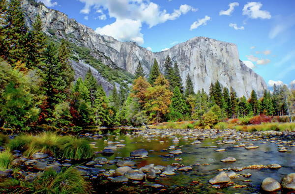 Photograph - Autumn In Yosemite National Park by Anthony Dezenzio