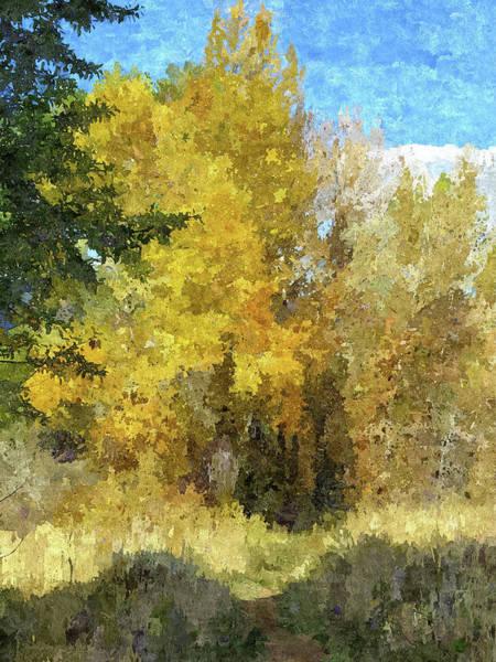 Digital Art - Autumn Invitation by David King