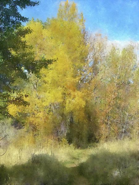 Digital Art - Autumn Invitation Dwp by David King
