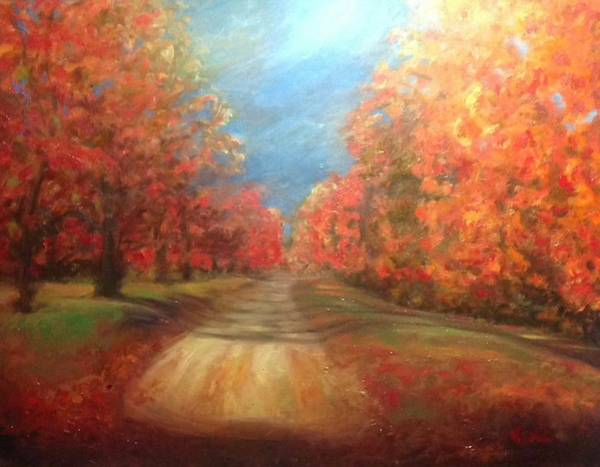 Painting - Autumn Dream by J Reynolds Dail