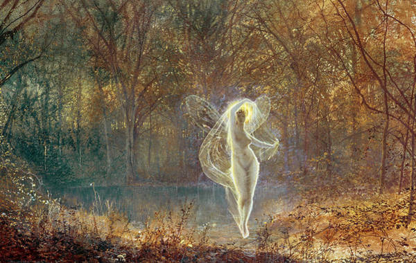 Wall Art - Painting - Autumn by John Atkinson Grimshaw