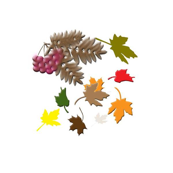 Digital Art - Autumn by Judy Hall-Folde