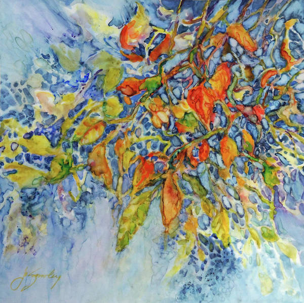 Painting - Autumn Lace by Joanne Smoley