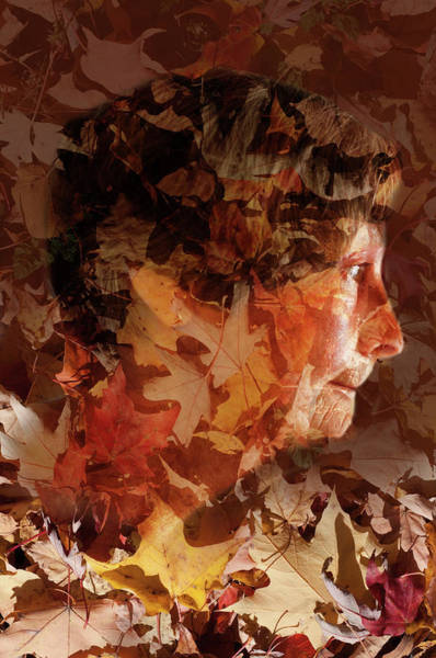 Photograph - Autumn Lady by Jean Gill