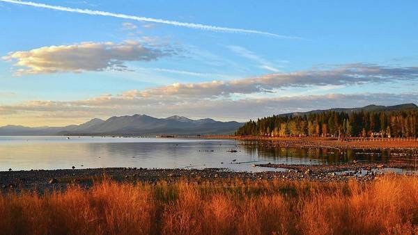 Photograph - Autumn Lake Tahoe by Marilyn MacCrakin