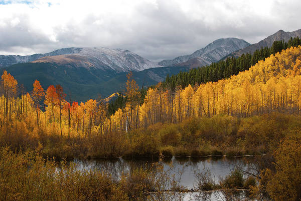 Photograph - Autumn Landscape From Southern Slopes Of Mount Elbert by Cascade Colors
