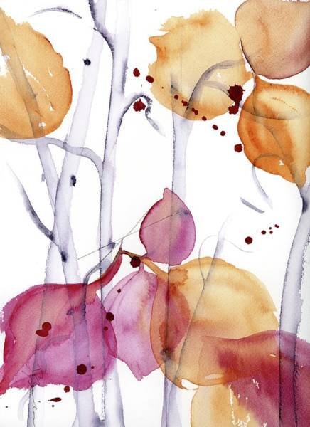 Painting - Autumn Leaves by Dawn Derman