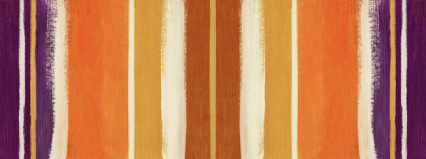 Wall Art - Painting - Autumn Lines Double- Art By Linda Woods by Linda Woods
