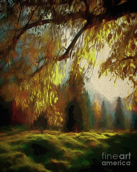 Digital Art - Autumn Magic by Edmund Nagele