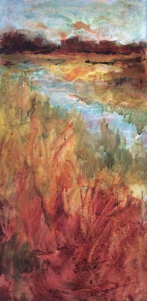 Painting - Autumn Marsh by Karen Ann Patton