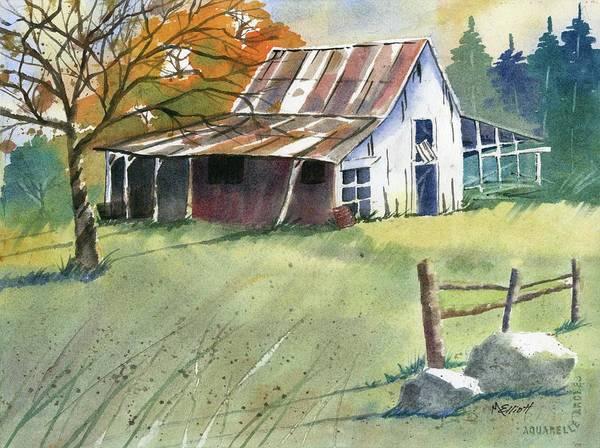 Wall Art - Painting - Autumn by Marsha Elliott