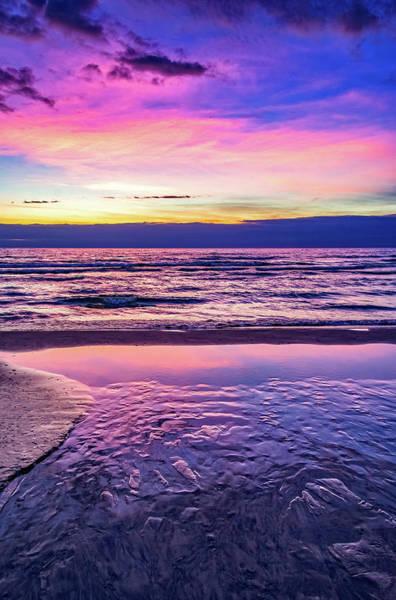 Sauble Beach Photograph - Autumn Merging - Sauble Beach 3 by Steve Harrington