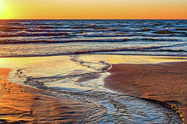 Sauble Beach Photograph - Autumn Merging - Sauble Beach 6 by Steve Harrington
