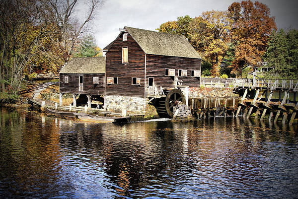 Photograph - Autumn Mill by Cate Franklyn