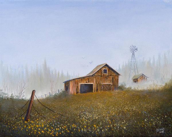 Painting - Autumn Mist by Chris Steele