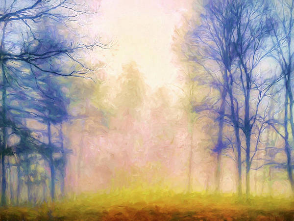Wall Art - Painting - Autumn Mist by Dominic Piperata