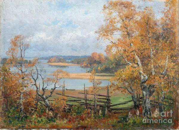 Painting - Autumn Mood by Celestial Images