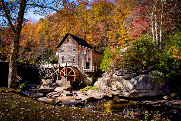 Babcock Photograph - Autumn Morning In West Virginia by Jeanne Sheridan
