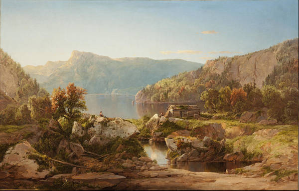 Wall Art - Painting - Autumn Morning On The Potomac Circa S by William Louis Sonntag Sr