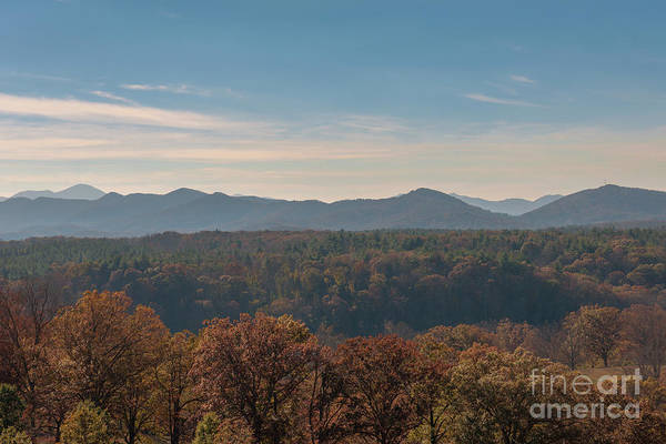 Photograph - Autumn Mountain View by Dale Powell