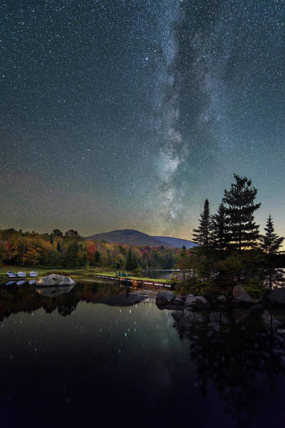 Photograph - Autumn Night by Michael Blanchette