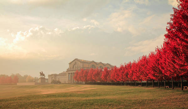 Maple Tree Photograph - Autumn On Art Hill by Scott Rackers
