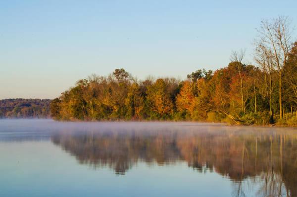 Wall Art - Photograph - Autumn On Beautiful Lake Nockamixon by Bill Cannon