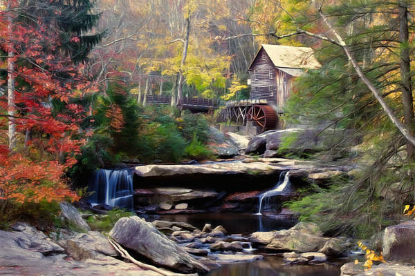 Wall Art - Photograph - Autumn On Glade Creek by Lana Trussell