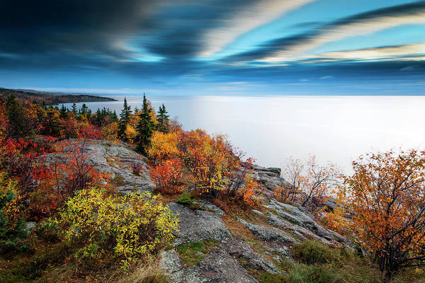 Photograph - Autumn On Palisade Head by CA Johnson
