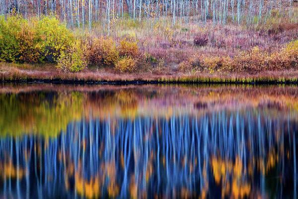 Photograph - Autumn Peace by John De Bord