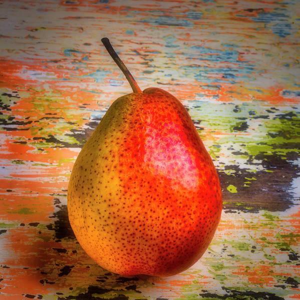 Wall Art - Photograph - Autumn Pear by Garry Gay