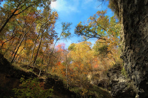 Lost River State Park Wall Art - Photograph - Autumn Perspective 2 by James Barber