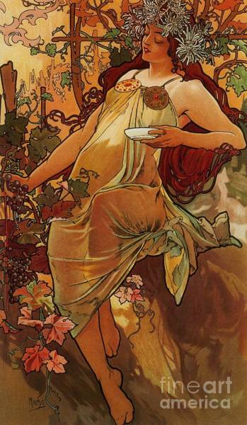 1897 Painting - Autumn by Pg Reproductions