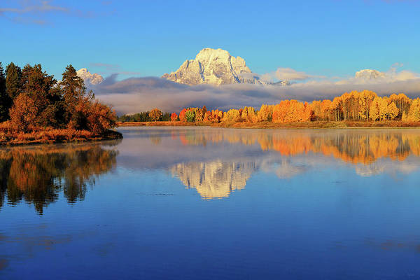 Photograph - Autumn Placid Reflections by Greg Norrell