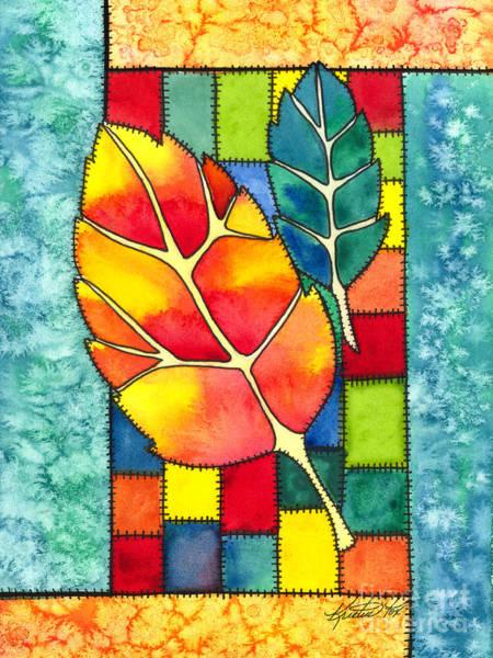 Painting - Autumn Quilt by Kristen Fox