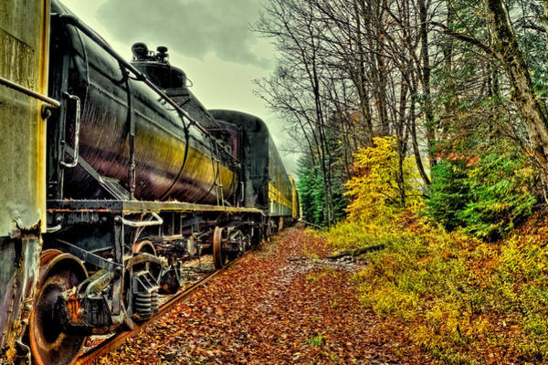 Photograph - Autumn Railway by David Patterson