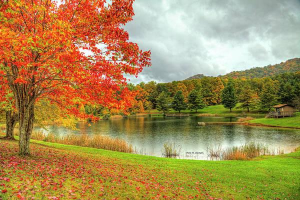 Photograph - Autumn Rain by Dale R Carlson