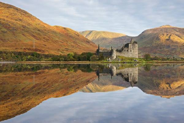 Photograph - Autumn Reflections At Loch Awe by Stephen Taylor