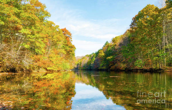 Wall Art - Photograph - Autumn Reflections by DAC Photo